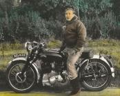 Vince Rapide motor cycle 1950's