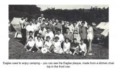Camping members of Cardiff Eagles c.1960's