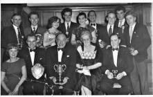 Presentation evening Cardiff Eagles 1950's