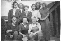 Women's Land Army during Free Time