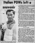 Italian POWs left a souvenir, Presteigne