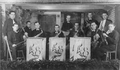 German POW Band at Presteigne