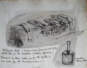 St Beuno's Chest, 1895 by Annie Cummings