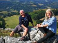 Tree hunter Rob McBride Filming BBC Countryfile...