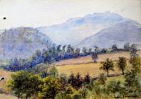 Moel Famau, June 10th, 1903 by Annie Cummings
