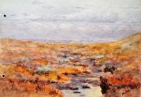 Landscape, Mar 10th, 1900 by Annie Cummings