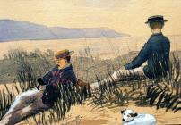 Barmouth, 10fed o Fedi 1885 gan Beatrice Cummings