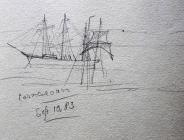Caernarfon, Sep 10th 1885 by Beatrice Cummings