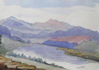 Snowdon, Sep 16th, 1886 by Beatrice Cummings