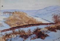 Snow, Caerwys, Jan 30th, 1910 by Annie Cummings
