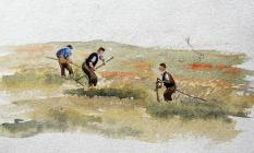 Scything by Beatrice Cummings