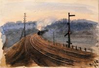 Train Travelling Along a Railway, Feb 28th,...