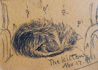 The Kitten, Nov 17th, 1912 by Beatrice Cummings