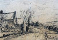 Painting of the Countryside, April 8th, 1922 by...