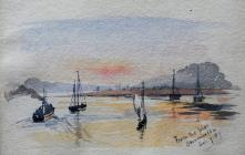 From the Pier, Beaumaris, Sep 7th, 1887 by...