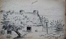Cottage at Penmon, Anglesey where we had tea,...