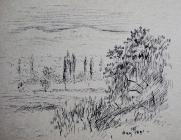 Landscape May 18th 1891 by Annie Cummings