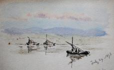 Boats, July 29th, 1892 by Annie Cummings