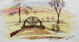 Rhydymwryn, April 28th, 1890 by Beatrice Cummings