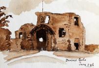 Denbigh Castle 5ed o Fehefin, 1896 gan Beatrice...