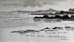 Craig y Don, Oct, 1900 by Beatrice Cummings