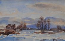 Snowscape, January 20th, 1910 by Beatrice Cummings
