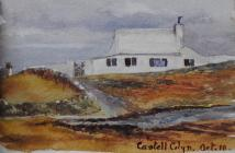 Castell Colyn, Oct 10th, 1906 by Beatrice Cummings