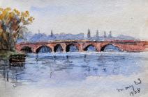 Bridge, May 23rd, 1908 by Beatrice Cummings