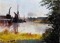 River, July 29th, 1908 by Beatrice Cummings