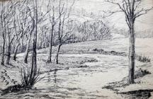 Nature landscape, Jan 26th, 1919 by Beatrice...