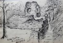 Ewloe Castle, Flintshire, Oct 27th, 1927 by...