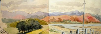 From Arthog Station, Sep 10th, 1885 by Annie...