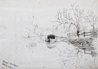 Canal Chester, Feb 15th, 1891 by Annie Cummings