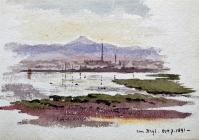 from Rhyl, Oct 7th, 1891 by Annie Cummings