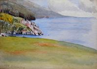 Shoreline, 1876 by Beatrice Cummings