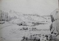 Shoreline, April 24th 1876 by Beatrice Cummings
