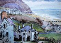 Penmeanmawr, April 1883 by Beatrice Cummings