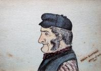 Welsh boatman, Apr 19th, 1883 by Beatrice Cummings