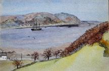 Menai Bridge from Bangor, Apr 21st, 1883 by...
