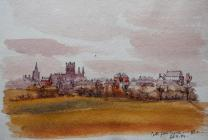 Cathedral from river, Feb 4th, 1884 by Beatrice...