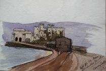 Conway Castle from Llandudno Junction, Sep 30th...