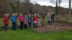 Llanelwy WI Tree Measuring