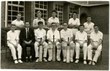 Machynlleth Secondary School c1960  Cricket Team