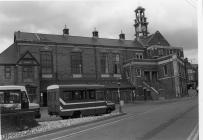 Maesteg Bus Station and Town Hall