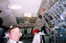 Inside Concorde Flight Deck