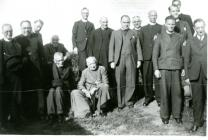 Induction at St Brides 1949