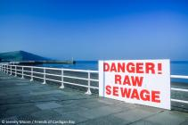 Friends of Cardigan Bay Sewage Protest,...