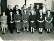 Possibly Pembrey Women's Institute members,...