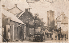 The Square, Llannon, Carmarthenshire c.1930s