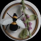 Garden Bumblebee by Maggie Cornelius